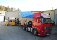 Organizing a special freight transport